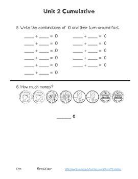 Everyday Math 4 Unit 2 Cumulative Assessment