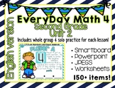 Everyday Math 4| Unit 2| English| Grade 2| Smartboard, Powerpoint, Worksheets