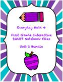 Everyday Math 4 Unit 2 SMART Notebook Bundle (First Grade)