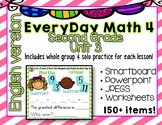 Everyday Math 4| Unit 3| English| Grade 2| Smartboard, Pow