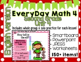 Everyday Math 4| Unit 4| English| Grade 2| Smartboard, Powerpoint, Worksheets