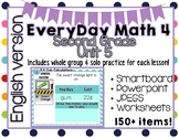 Everyday Math 4| Unit 5| English| Grade 2| Smartboard, Powerpoint, Worksheets