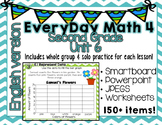 Everyday Math 4| Unit 6| English| Grade 2| Smartboard, Pow