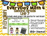 Everyday Math 4  Unit 7  English  Grade 2  Smartboard, Powerpoint, Worksheets