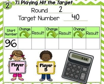 Everyday Math 4| Unit 7| English| Grade 2| Smartboard, Powerpoint, Worksheets