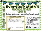 Everyday Math 4  Unit 8  English  Grade 2  Smartboard, Powerpoint, Worksheets