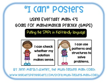 EM4's (Everyday Math 4's) Goals for Mathematical Practice