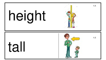 Everyday Math 4th Edition Kindergarten Vocabulary Unit 6