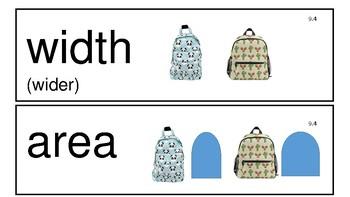 Everyday Math 4th Edition Kindergarten Vocabulary Unit 9