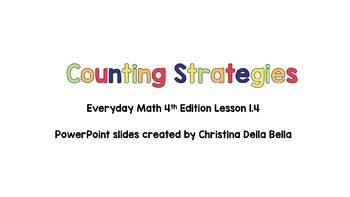 Everyday Math 4th Edition -- Lesson 1.4