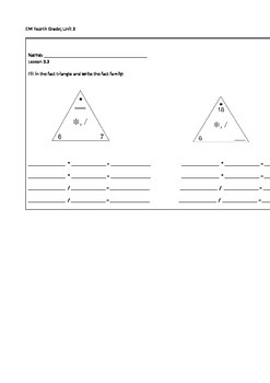 Everyday Math 4th Grade Exit Slips Unit 3