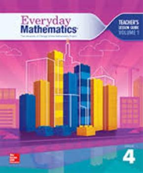 Everyday Math 4th Grade Unit 1.4 SRB Introduction