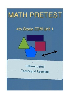Everyday Math 4th Grade Unit 1 Pretest