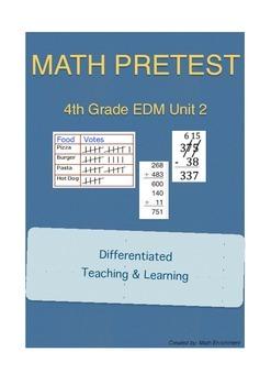 Everyday Math 4th Grade Unit 2 Pretest