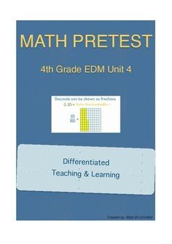Everyday Math 4th Grade Unit 4 Pretest