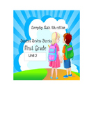 Everyday Math (4th edition)  Unit 2 Review Sheet - First Grade