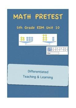 Everyday Math 5th Grade Unit 10 Pretest
