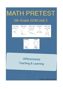 Everyday Math 5th Grade Unit 3 Pretest