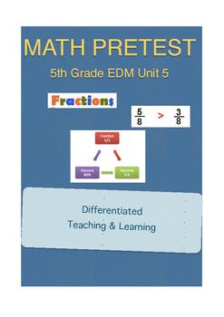 Everyday Math 5th Grade Unit 5 Pretest
