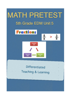Everyday Math 5th Grade Unit 5 Pretest