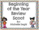Everyday Math Beginning of Year Task Cards (Scoot)