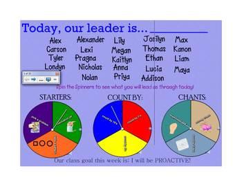 Everyday Math Calendar for K - 2 teachers