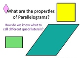 Everyday Math Chapter 1 Lesson 1.4 Parallelograms (4th Grade)