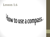 Everyday Math Chapter 1 Lesson 1.6 Compass (4th Grade)