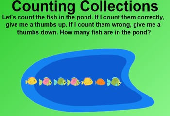 Everyday Math 4 EDM4 Common Core Edition Kindergarten 2.10 Counting Collections