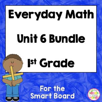Everyday Math EDM 1st Grade Unit 6 Bundle