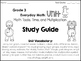 Math Study Guide, Grade 3, Unit 1 of EDM4
