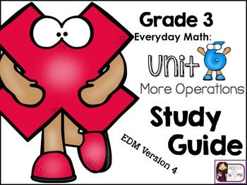 Math Study Guide, Grade 3, Unit 6 of EDM4