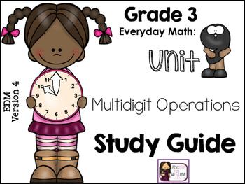 Everyday Math (EDM 4) Study Guide, Grade 3, Unit 9