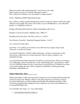 Everyday Math - EM4 - Lesson Plans - Grade 4 - Complete Unit 2!