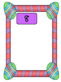 Everyday Math - Easter Number Collection Boxes
