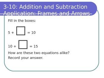 Grade 1 Everyday Math Edition 4 (CCSS) Math Messages: Unit 3-4