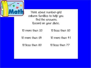 Everyday Math First Grade Mimio Slides