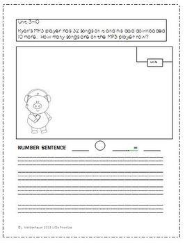 Everyday Math First Grade Number Stories CCSS
