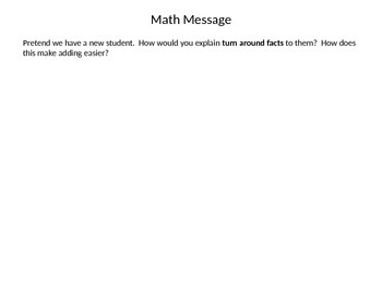 Everyday Math First Grade PowerPoint Lesson 5.11