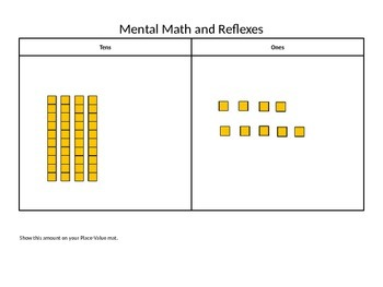Everyday Math First Grade PowerPoint Lesson 5.4