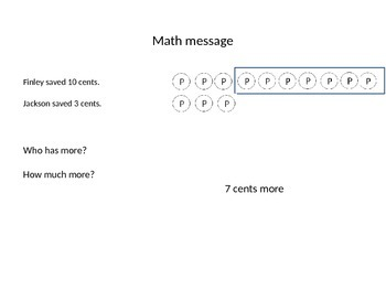 Everyday Math First Grade PowerPoint Lesson 5.7