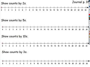 Everyday Math First Grade Unit 3 Flipchart