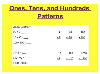Everyday Math, Grade 1 – Addition and Subtraction Review