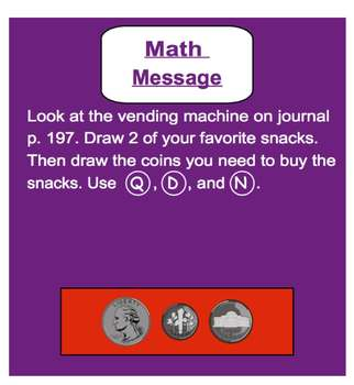 Everyday Math, Grade 1 – Lesson 10.4: Mental Arithmetic, Continued