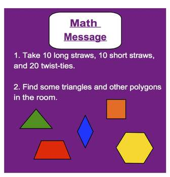 Everyday Math, Grade 1 – Lesson 10.5: Year-End Geometry Review