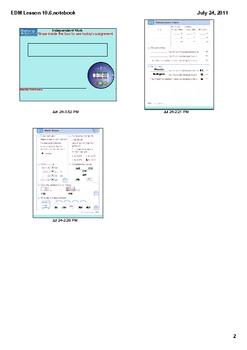 Everyday Math Grade 1 Lesson 10.6