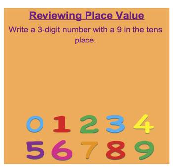 Everyday Math, Grade 1 – Lesson 10.7: Review: Place Value, Scrolls &Number Grids
