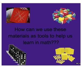 Everyday Math, Grade 1 - Lesson 1.11: Explorations