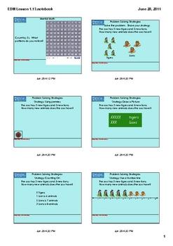 Everyday Math Grade 1 Lesson 1.13