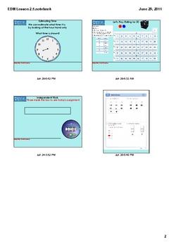 Everyday Math Grade 1 Lesson 2.5